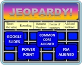 4th Grade Math Jeopardy- Place Value