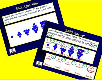 Jeopardy 4th Grade Common Core Multiplying and Multi-step Word Problems