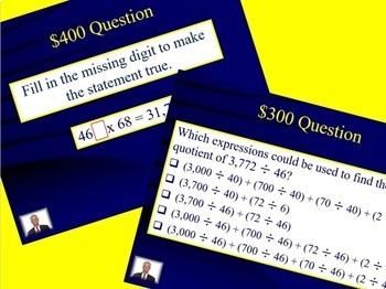 Jeopardy 5th Grade Common Core / FSA Decimals: +, -, X and DIVIDE