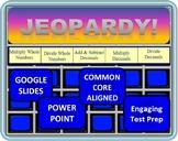 5th Grade Math Jeopardy- Decimal Operations