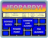 5th Grade Math Jeopardy- Geometry, Order of Operations, Patterns