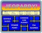 Jeopardy 5th Grade Common Core / FSA Measurement and Data (MD)