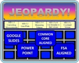 5th Grade Math Jeopardy- Measurement and Data (MD)