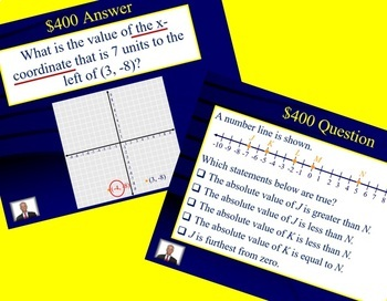 Jeopardy 6th Grade Common Core / FSA Number Systems (NS)