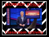Jeopardy Africa Review game!!