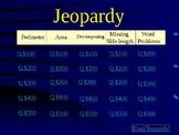 Jeopardy Area and Perimeter