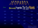 Jeopardy Astronomy Review Game