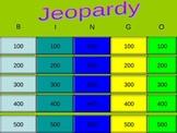 Jeopardy Bingo Powerpoint