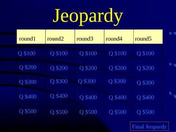 Jeopardy, Cells