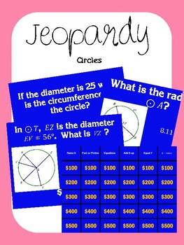 Jeopardy - Circles