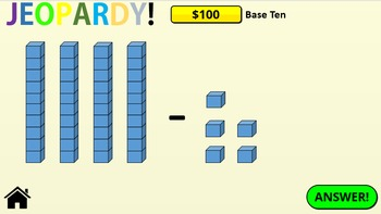 Jeopardy! Common Core Maths Grade 1 Powerpoint