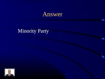 Jeopardy: Congress