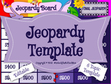 Jeopardy Editable Template Review Game Team Building - Goo