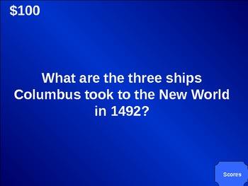 Jeopardy! Explorers (US History Edition)