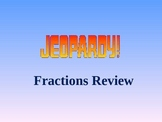 Jeopardy Fractions Review