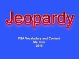 Jeopardy Game 3rd grade FSA ELA Prep