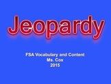 Jeopardy Game 3rd grade FSA ELA Prep