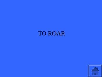 Jeopardy Game - Language Arts