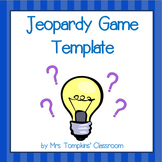 Jeopardy Game PowerPoint Template