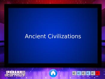 Jeopardy Game Round One