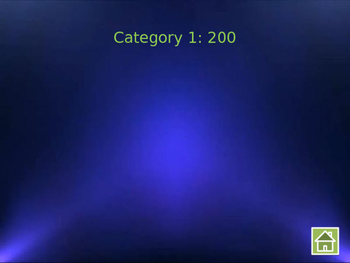 Jeopardy Game Show Template