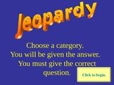 Jeopardy Game Student Template