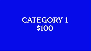 jeopardy template review game powerpoint by connor bradley tpt