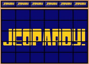 Jeopardy game template by lady lion teachers pay teachers jeopardy game template pronofoot35fo Image collections