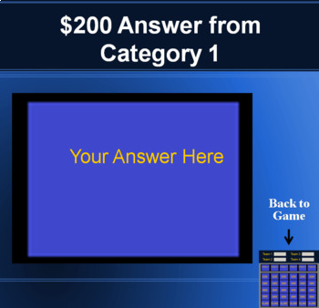 Jeopardy template powerpoint game keeps scores on a mac and a pc toneelgroepblik Images