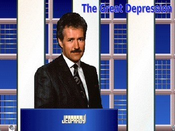 Great Depression Jeopardy Game