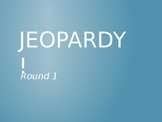 Jeopardy Game for NWEA MAP Language Review