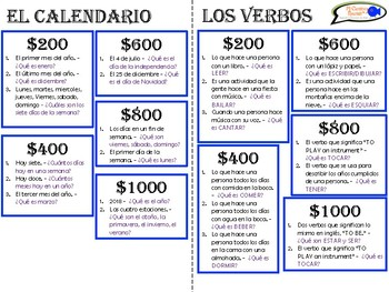 Jeopardy Game for Spanish Students! (12 Categories & Customizable!) NOT PPT!