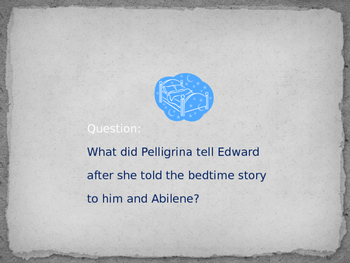 Jeopardy Game for The Miraculous Journey of Edward Tulane by Kate DiCamillo
