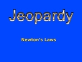 Jeopardy Game on Newton's Laws