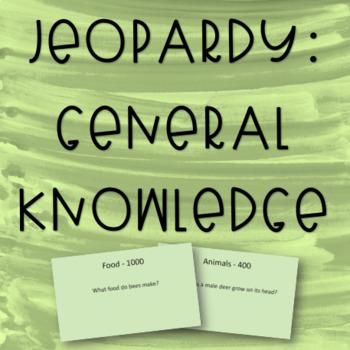 Jeopardy - General Knowledge