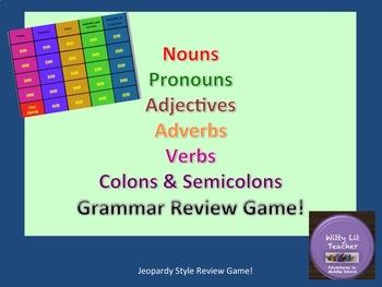 Grammar Review Game!