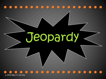 Great Depression Jeopardy (Roaring 20s & New Deal)