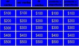 Jeopardy Imperfect Vs. Preterite Tenses in Spanish