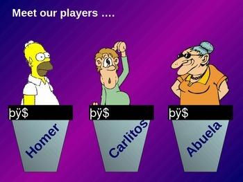 Jeopardy! Spanish: La Familia, Tener, Possessive Adjectives