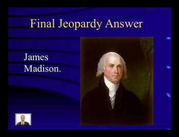 Jeopardy Game - Constitution - Bill of Rights - Rights of Accused