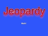 Jeopardy Math Review