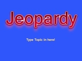 Jeopardy Math Review 2nd Grade