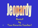 Jeopardy Math Review Game!