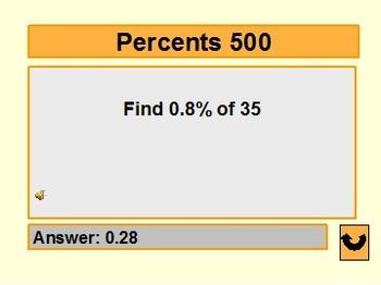 Jeopardy Math on PowerPoint