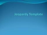 Jeopardy Microsoft Excel Template