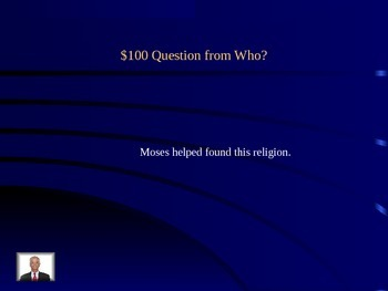 Jeopardy Monotheistic Religions Review Game