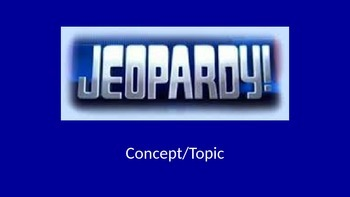 Jeopardy One-Variable Equations