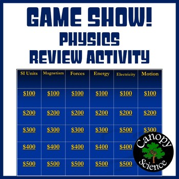 Game Show! - Physics