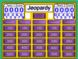 Jeopardy Place Value and Computation Review