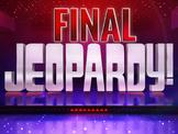 Jeopardy Power Point- Inca Editable